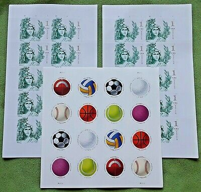 Combo: Two x 10 STATUE OF FREEDOM (# 5295) & 1 x 16 HAVE A BALL! (# 5203-5210)