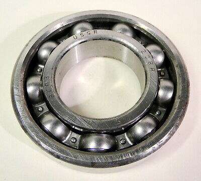 USSR GPZ 208A / 6208 SKF, NSK Deep Groove Ball Bearing, New Old Stock 40x80x18mm