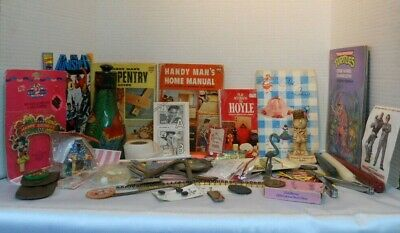 Junk Drawer & Closet Clean Out Lot #4 New, Old, Vintage, Antique, Collectibles