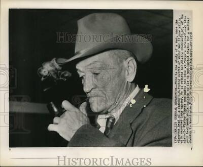 1958 Press Photo General Claire Chennault, WWII Flying Ace aviator in Tokyo