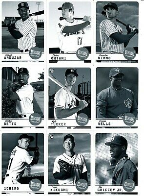 2019 Topps Archives Snapshots - BLACK & WHITE PARALLELS - U Pick From List