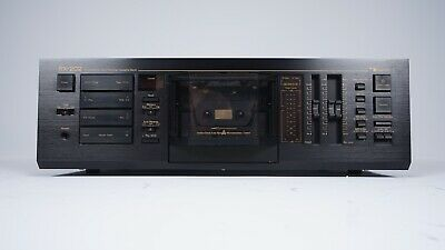 Nakamichi RX-202 Unidirectional Auto-Reverse Cassette Tape Deck Player Recorder