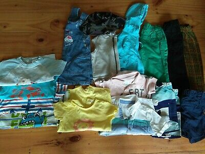 Boys Clothes Summer Bundle 1-2 Years