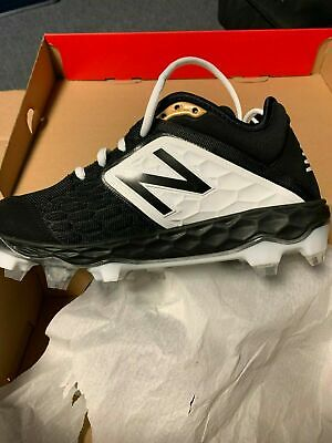 New Balance PL3000K4 Men's Fresh Foam 3000v4 TPU Cleats Black Baseball Shoes