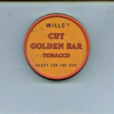 Wills's Cut Golden Bar Tobacco Tin 1oz