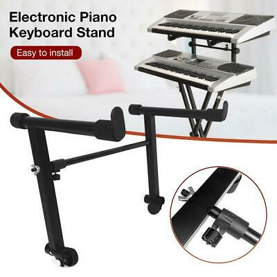 Adjustable Double Braced X Foldable Music Stand/Holder For Keyboard/Piano