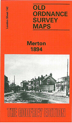 Old Ordnance Survey Maps Merton 1894