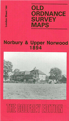 Old Ordnance Survey Maps Norbury & Upper Norwood 1894