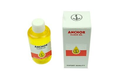 Anchor Clock Oil 20ml Lubricating Mechanical Movements Oiling Repairing  s7216