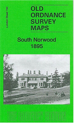 Old Ordnance Survey Maps South Norwood 1895