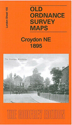 Old Ordnance Survey Maps Croydon Ne 1895