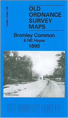 Old Ordnance Survey Maps Bromley Common 1895