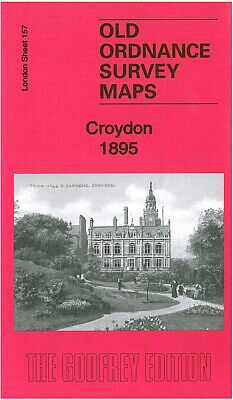 Old Ordnance Survey Map Croydon 1895