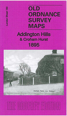 Old Ordnance Survey Maps Addington Hills & Croham Hurst 1895