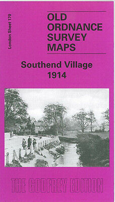 Old Ordnance Survey Maps Southend Village 1914
