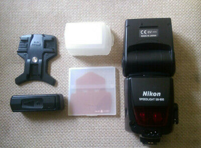 Nikon Speedlight SB-800 Shoe Mount Flash --- Great condition