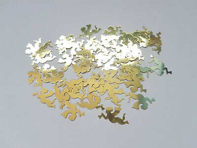 50 x Craft Sequins/Confetti - 19mm - Angel - Gold