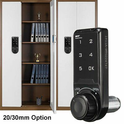 Safety Keyless Cabinet Door Drawer Lock Battery Power Home Office Security Code