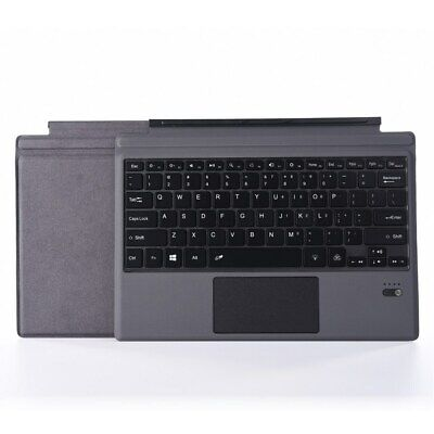 Microfiber Leather Wireless Bluetooth Keyboard for Microsoft Surface Pro 6/5/4/3