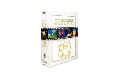 The Collected Works of Hayao Miyazaki (12-disc,Blu-Ray) BRAND NEW