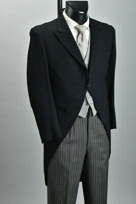 Gentleman's Mid C20th London made Morning Dress Wedding Outfit. Ref SNW