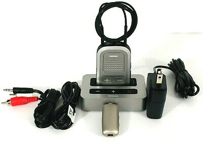 Phonak TVLink S with Phonak ComPilot I + Audio Cables + Remote Mic