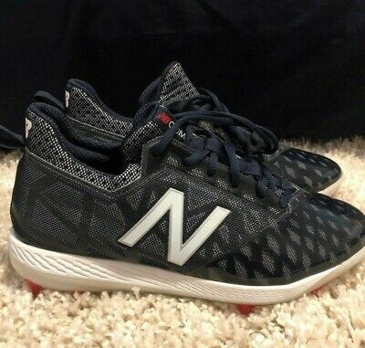 New Balance COMPTN1 Men's COMPv1 Low-Cut TPU Molded Cleats Navy Baseball Shoes