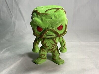 Funko Pop! DC Heroes Swamp Thing #82 Flocked Scented Exclusive (No Box)