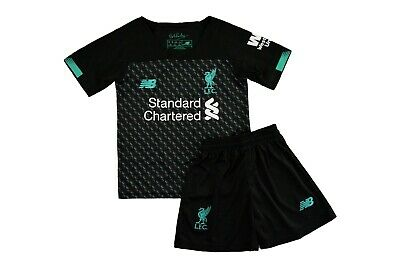 Liverpool 3Rd Shirt And Shorts Kids Kit Bnwt 2019-2020 Uk Stock