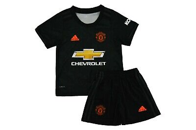 Manchester United 3Rd Shirt And Shorts Kids Kit Bnwt 2019-2020 Uk Stock