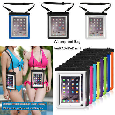 Touchscreen Storage Diving IPad Case Waterproof Cover Underwater Pouch Swimming