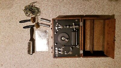Vintage electric medical quackery device/instrument