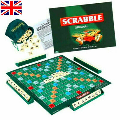 Original Scrabble Board Game Family Kids Educational Puzzle Card Game Toys Gift