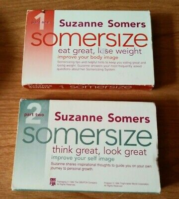 Suzanne Somers - self improvement - Somersize  lecture 2 cassettes
