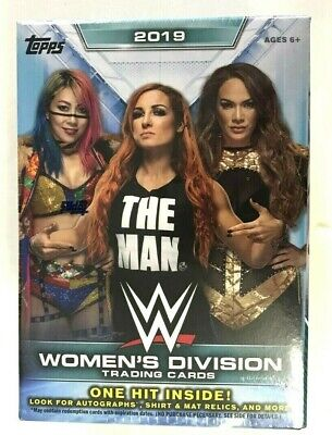 2019 Topps Wwe Womens Division Blaster Box ( One Hit Inside )