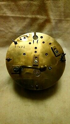 French Clock Movement For Spares Or Repairs