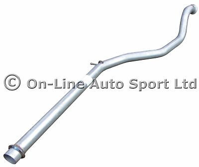 Peugeot 206 GTi 180 Perfomance Exhaust Race Tube Centre Pipe Hoffman