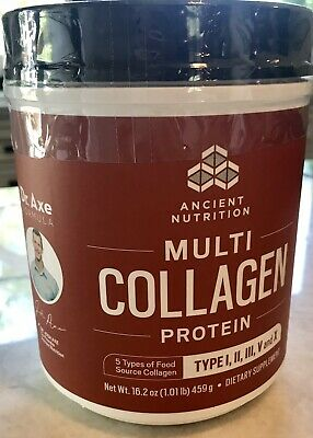 Dr. Axe Ancient Nutrition Multi Collagen Protein Powder Exp05/20 Skin/Gut Health