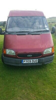 Ford transit smiley front 2.5 D.i. LWB  semi hi top Diesel van.1996.