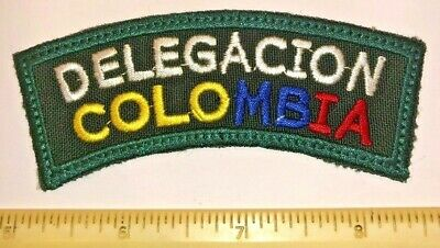 Delegacion Colombia Shoulder Badge Patch 2019 24th World Boy Scout Jamboree MINT