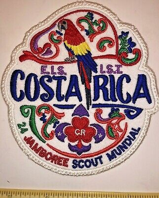 Costa Rica IST (Staff) Badge Patch 2019 24th World Boy Scout Jamboree MINT
