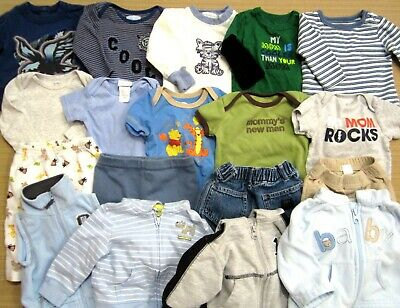 Baby Boy Size 3-6 6 Month Clothes Lot Baby Gap Mostly Carter's Disney Old Navy