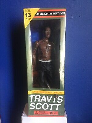 Travis Scott Reese's Puffs (Complete Set) [2 Box, Bowl & Spoon] W/ ACTION FIGURE