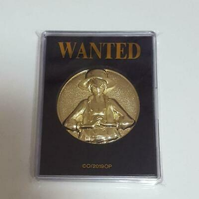 One Piece Luffy Coin Stampede Movie 20th Anniversary Memorial 2019 Free Shipping