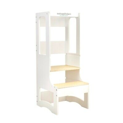 Learning Tower® Birch / Scandi White. Toddler tower, SECONDS MY HAPPY HELPERS