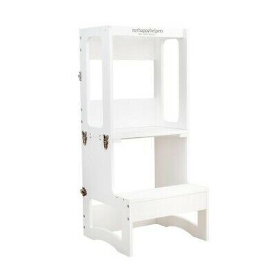 Learning Tower to Table WHITE Kitchen Helper, Toddler Tower.