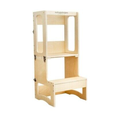 Learning Tower®to Table Varnished Birch Kitchen Helper, Toddler Tower. SECONDS