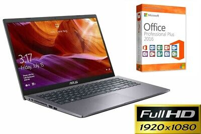 "Notebook Asus F509 - Ssd - 15.6"" Full Hd Matt - Windows 10 Pro - Bluetooth"