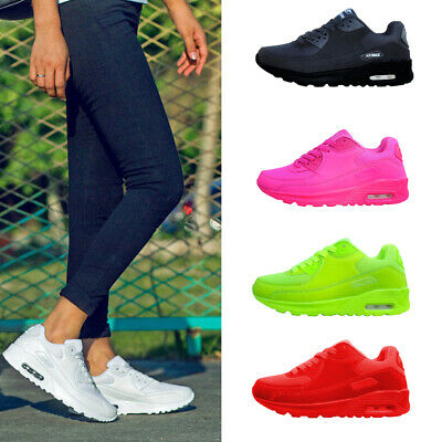 Woman Fashion Breathable Sneaker Shoes Solid Color Mesh Running Casual Shoes