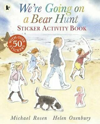 We're Going on a Bear Hunt Sticker Activity Book by Michael Rosen 9781406361926